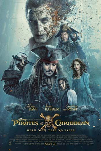 دانلود زیرنویس فارسی فیلم Pirates of the caribbean dead men tell no tales 2017